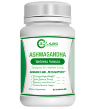 Load image into Gallery viewer, 3D Labs Nutrition Ashwagandha Stress Relief