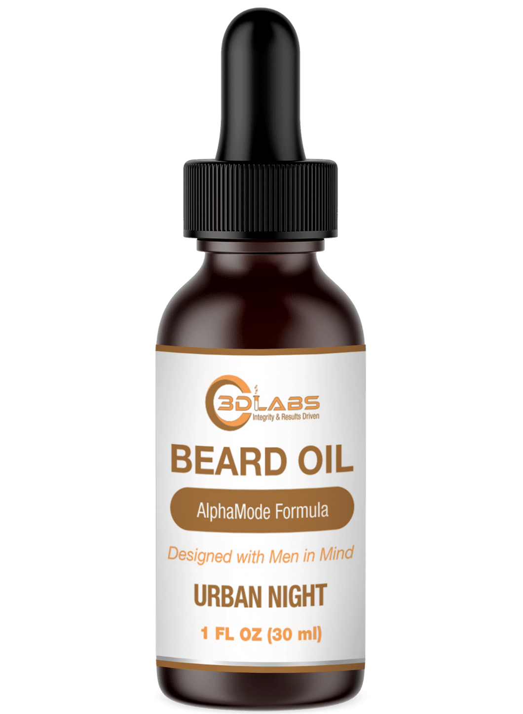 Beard Oil (Urban Night)-Skin Care-3D Labs Nutrition