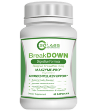 Load image into Gallery viewer, 3D Labs Nutrition: BreakDown Digestive Enzymes