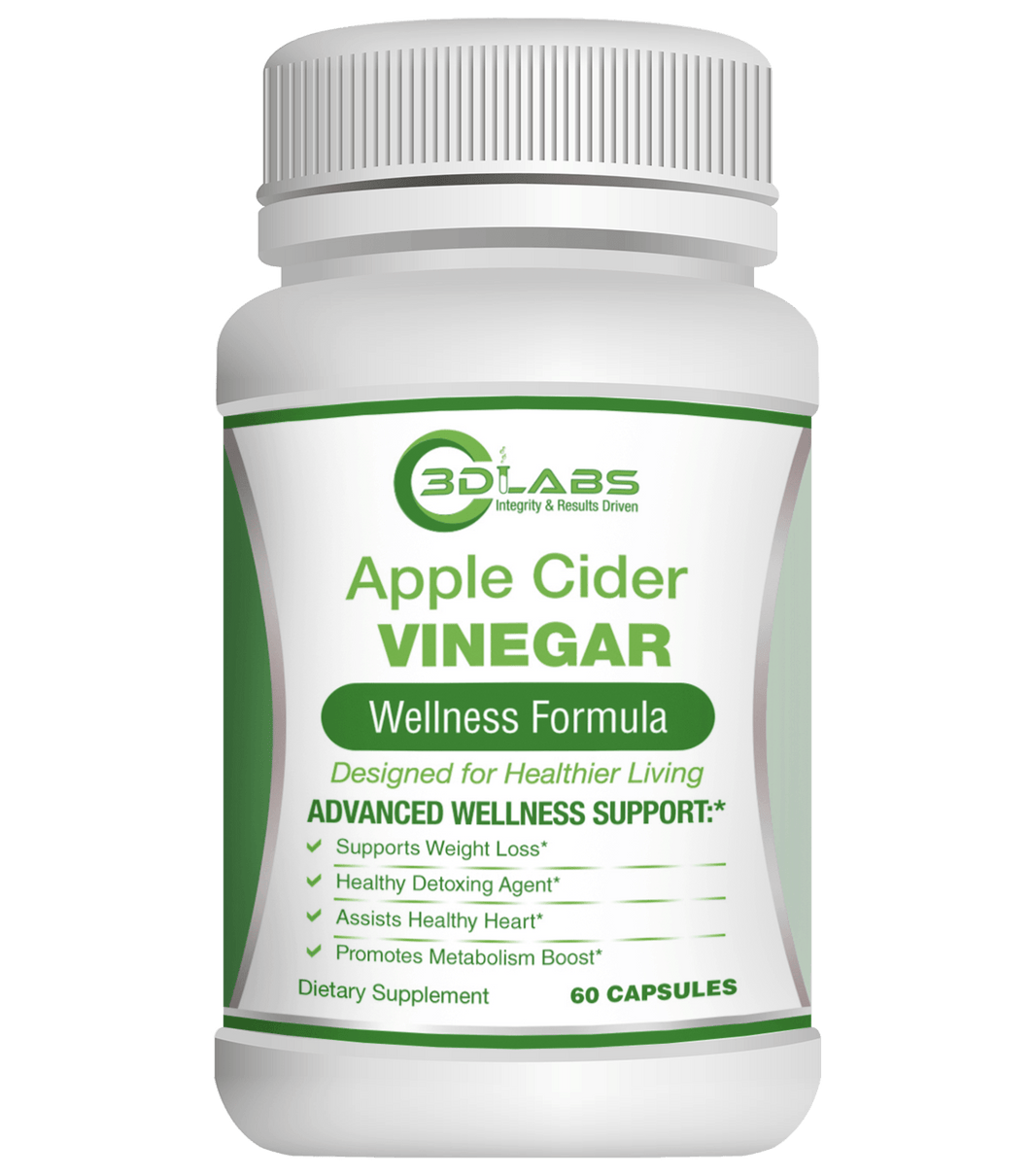 3D Labs Nutrition: Apple Cider Vinegar