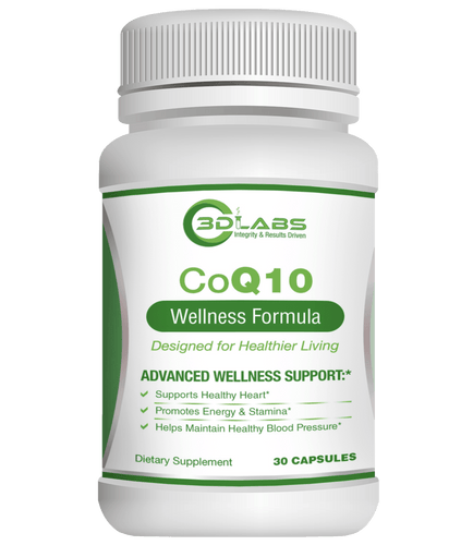 3D Labs Nutrition: CoQ10