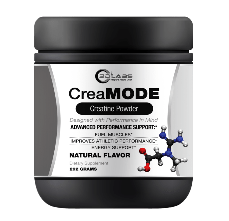 3D Labs Nutrition: CreaMode Creatine