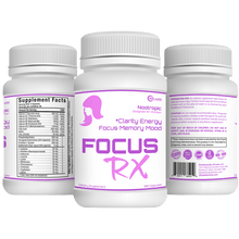 Load image into Gallery viewer, 3D Labs Nutrition: FocusRX Nootropic for Women