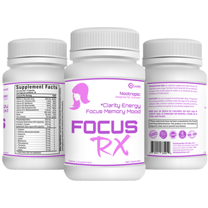 3D Labs Nutrition: FocusRX Nootropic for Women