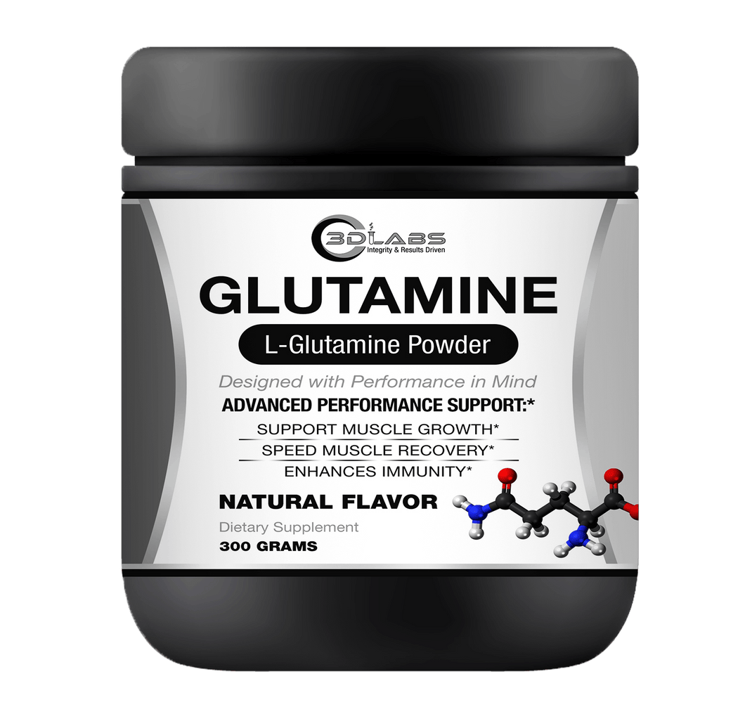 3D Labs Nutrition: Glutamine