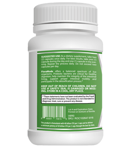3D Labs Nutrition: FloraMode: Probiotics for Gut Health