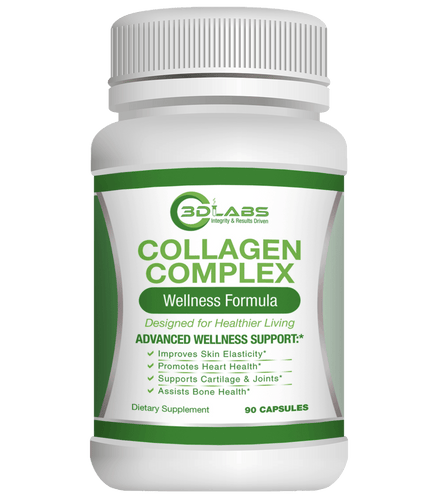 Collagen Complex-Skin Care-3D Labs Nutrition