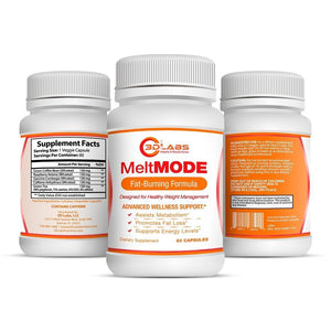 3D Labs Nutrition: MeltMode Fat Burning Blend