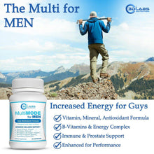 Load image into Gallery viewer, 3D Labs Nutrition: MultiMode for Men: mens multivitamin