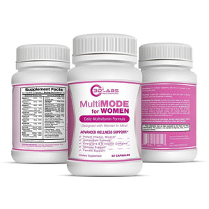 3D Labs Nutrition: MultiMode for Women Multivitamin