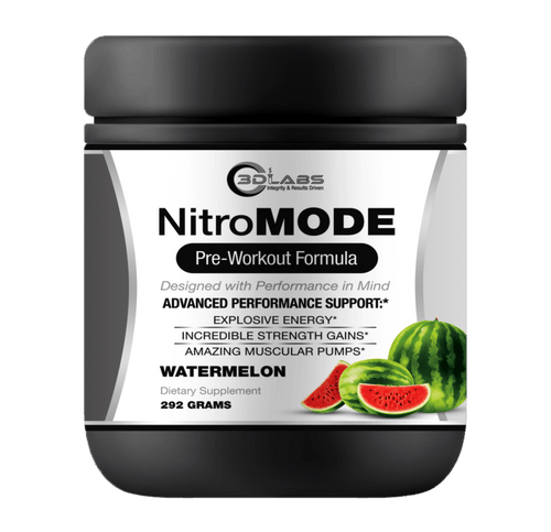 3D Labs Nutrition: NitroMode PreWorkout Watermelon