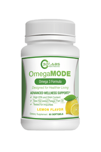 3D Labs Nutrition: OmegaMode Omega-3 Fatty Acids