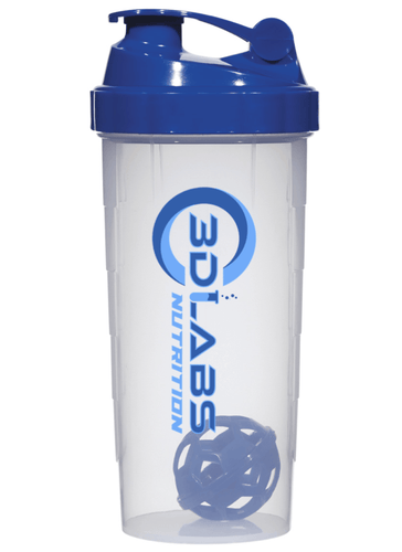 3D Labs Nutrition 24oz Shaker Bottle