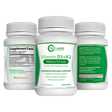 Load image into Gallery viewer, 3D Labs Nutrition: Vitamin D3K2