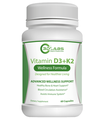 3D Labs Nutrition: Vitamin D3K2