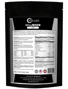 3D Labs Nutrition: WheyMode (Whey Protein Blend)