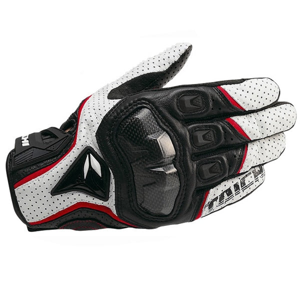 Breathable Leather Motorcycle Racing Gloves