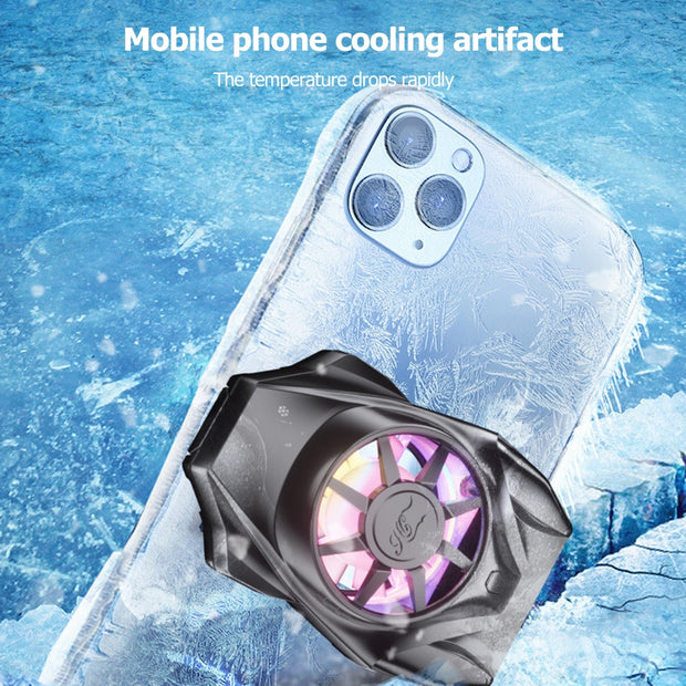 Rechargeable Phone Radiator Gaming Cooler