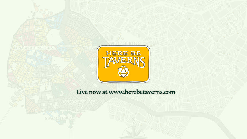 Here Be Taverns 2 is now live!