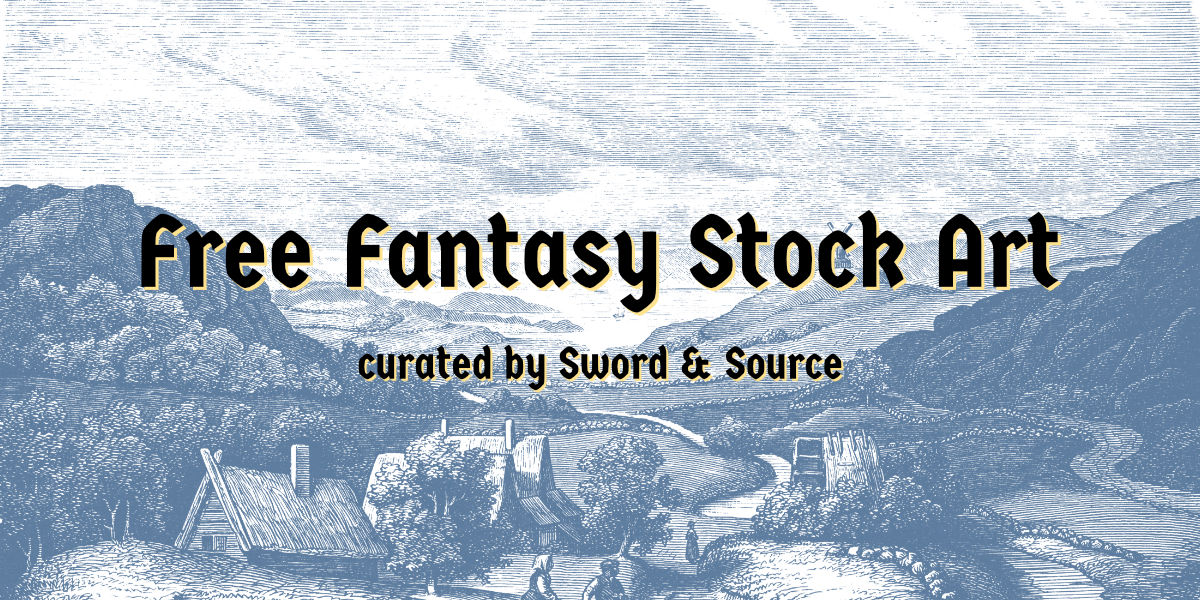 Free Fantasy Art from the public domain - curated by Sword & Source
