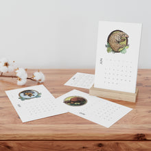 Load image into Gallery viewer, Animal Vertical Desk Calendar