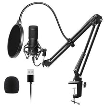 Load image into Gallery viewer, Usb Streaming Podcast Pc Microphone Professional Studio Cardioid Condenser