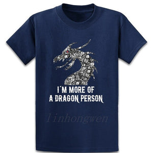 Dungeons Dice More Of Dragon Person Rpg T Shirt