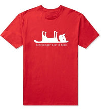 Load image into Gallery viewer, Schrodingers Cat is Dead T shirt