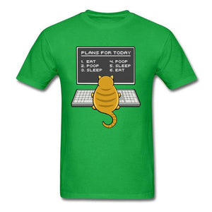 CAT Engineer PLANS For Today  T-shirts I