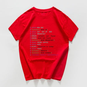 Monday Programmer funny t shirt