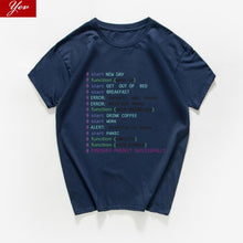 Load image into Gallery viewer, Monday Programmer funny t shirt