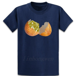 Dragon Rpg Egg Cube Dungeons Dice T Shirt