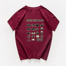 Load image into Gallery viewer, Choose Your Weapon Gamer T shirt