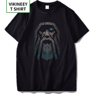 Odin T shirt Vikings God Nordic Mythology T Shirt