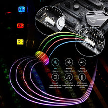 Load image into Gallery viewer, 12V RGB LED Strip Light PC Computer Case 4pin Headers LED Light Strip Mainboard Control Panel RGB Header gamer cabinet tape Neon