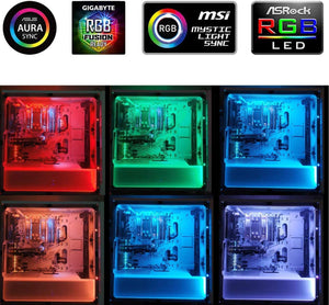 12V RGB LED Strip Light PC Computer Case 4pin Headers LED Light Strip Mainboard Control Panel RGB Header gamer cabinet tape Neon