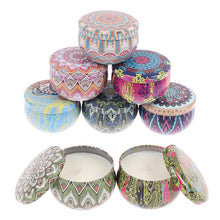 Load image into Gallery viewer, Scented Candles Gift Set 4/8 Pieces 2.8 oz Natural Soy Wax Aromatherapy Candles with Lasting Wake, Portable Travel Tin Candles for Stress Relief of the Body