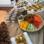 Load image into Gallery viewer, image of a morning buffet food selection from Yasmin Bakery & Catering Catering selection