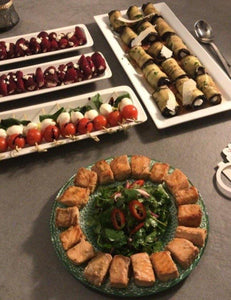 image of a morning buffet food selection from Yasmin Bakery & Catering Catering selection