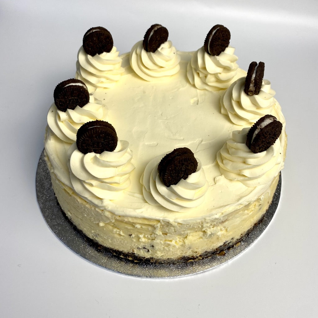 Oreo base cheesecake