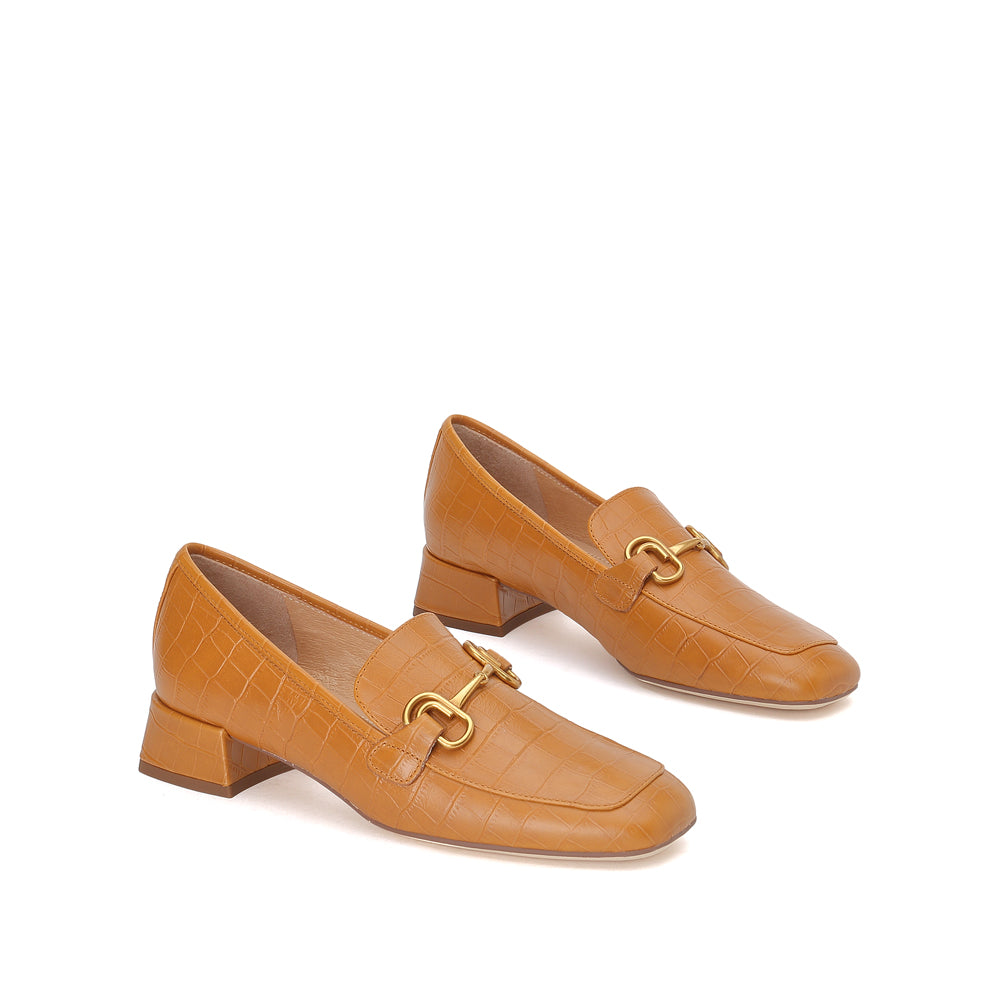 CLASSIC LEATHER HORSEBIT LOAFERS