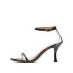 Load image into Gallery viewer, EMBOSSED STRAP BLOCK HEEL SANDAL