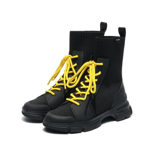 NEO COLOR LACE UP BOOTS