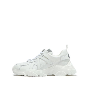 SIMPLY WHITE WIDE FIT CHUNKY SNEAKERS