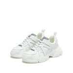 Load image into Gallery viewer, SIMPLY WHITE WIDE FIT CHUNKY SNEAKERS