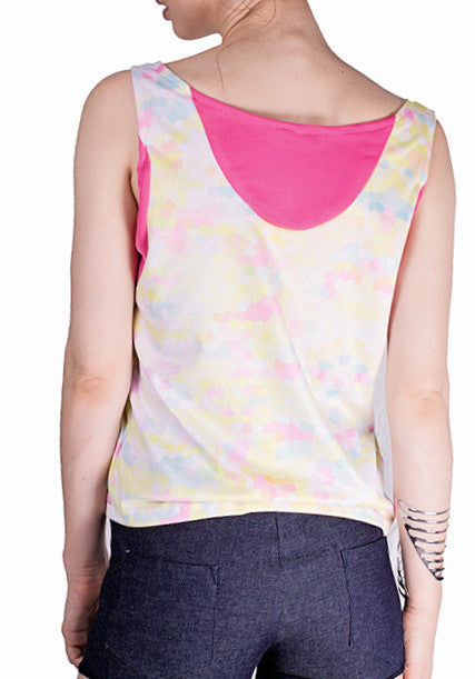 Power Of Pink Top  Tops - Majestee Clothing