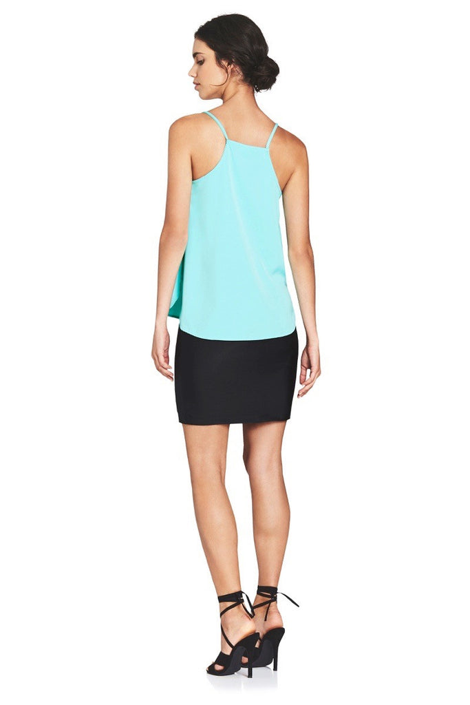 MINTY V-NECK CAMI  Tops - Majestee Clothing