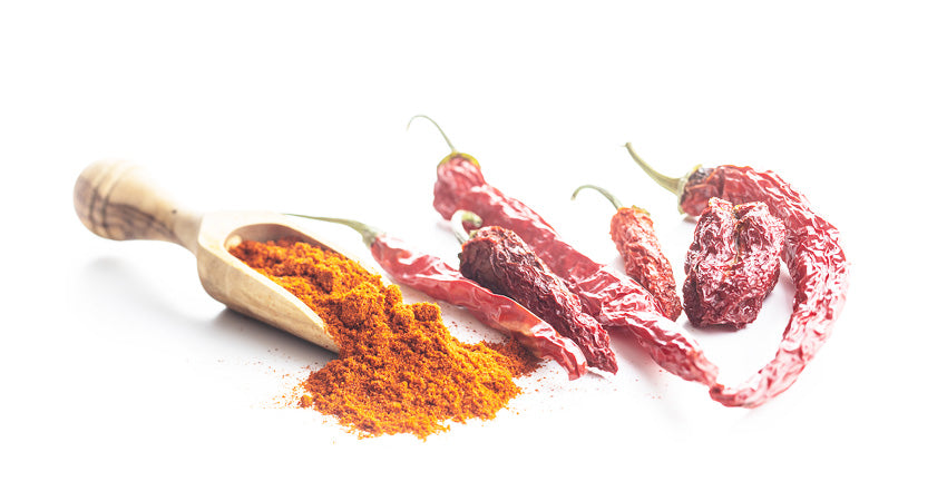 Image showing when there is too much cayenne pepper