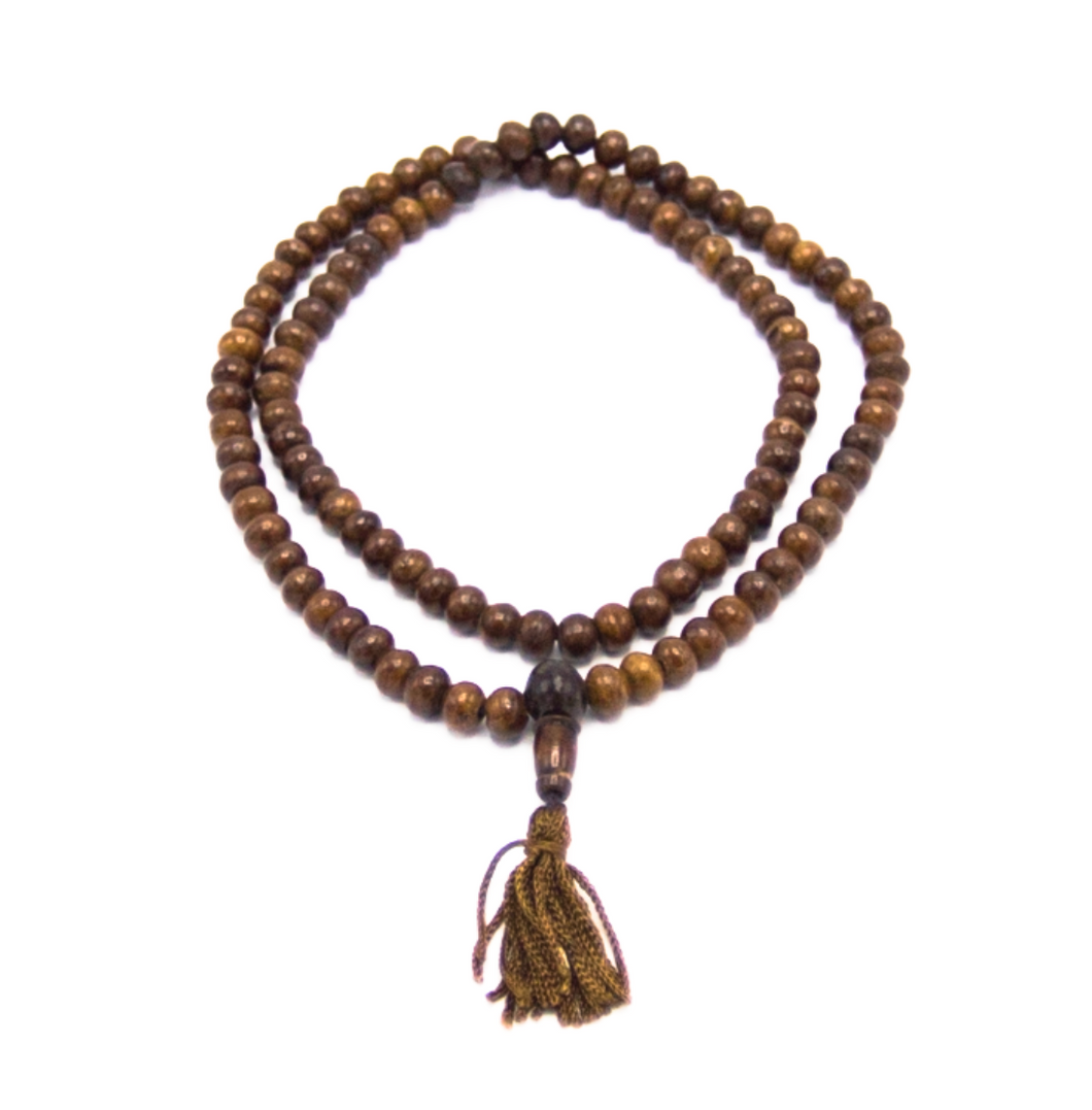 Antique Bone Mala