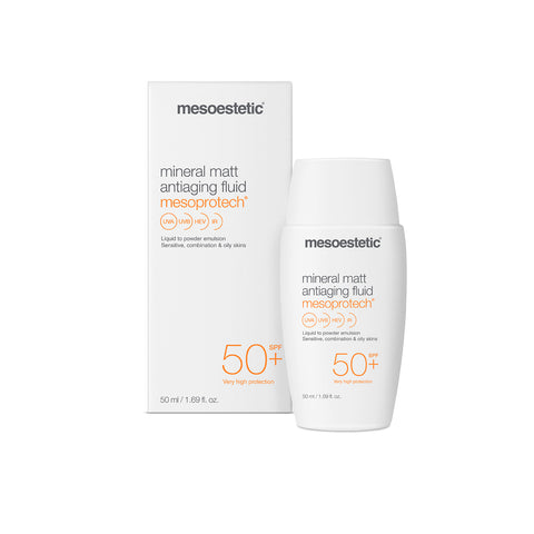 Mesoprotech mineral matt antiaging fluid 50+SPF  50ml